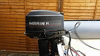 YAM 330, Yamaha 6hp outboard and trailer