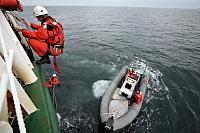 Ship boarding training in Biscay