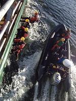 Ship boarding training Swedish Archipelago 14/03/15