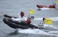 Action against Gazprom in Pechora sea