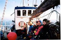 Charter trip to Cornwall aboard Maureen of Dart