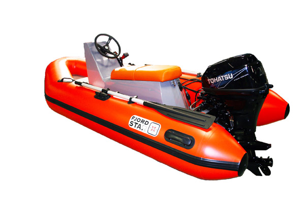 Fjordstar 325 Jockey - with engine Tohatsu 20Hp  max speed 41km/h