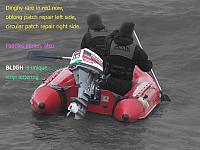 STOLEN - Zodiac Futura RIB in red with black detail.  If you see it, please email me.