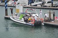 SeakingSam as Singapore media boat for Volvo Round the World Race, Jan 2009