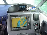 New helm station after Yamaha and Simrad refit