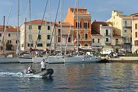 Italian Harbour Master in La Maddelena