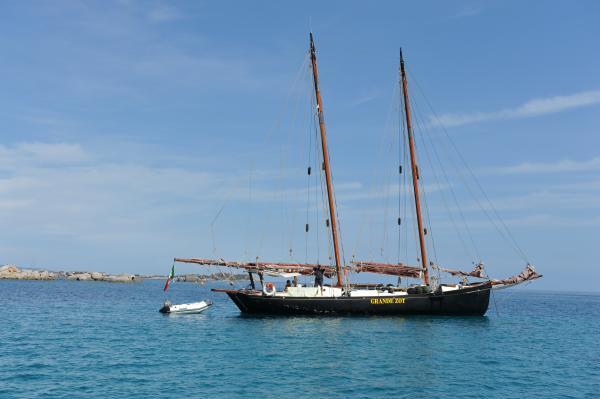 Fantastic sailing boat