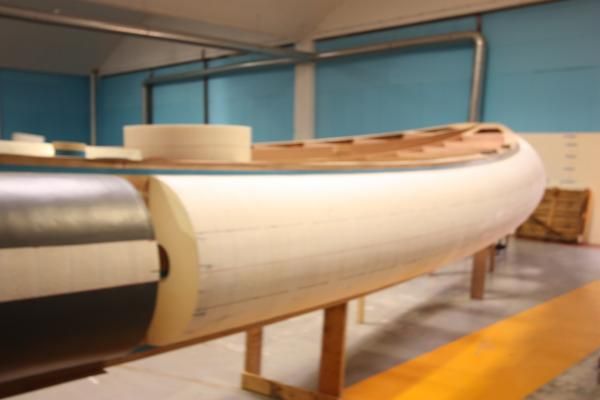 Foam/air hybrid tubes for No Limit Ships of Netherlands