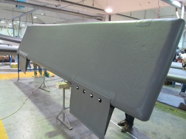 Special flat fenders for Super Yachts with ballasted water pockets