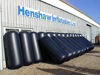 A shipment of fenders ready for delivery to a 65 metre yacht