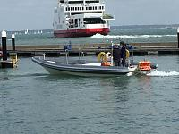 Royal Yacht Squadron Rib re tube April 2015