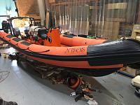 Atlantic 21 complete rebuild for Nisos Charter in Greece