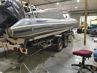 Ribcraft 7.8 metre re tube