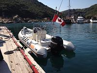 Pit Stop for fuel in Clearwater Bay, Hong Kong 'Deltabay 635'  (6.35 metre) Engine: Mercury 115, 4 stroke. Fuel Tank Capacity: 120 Litres. I went to...