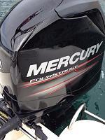 a new Mercury 115BHP Engine