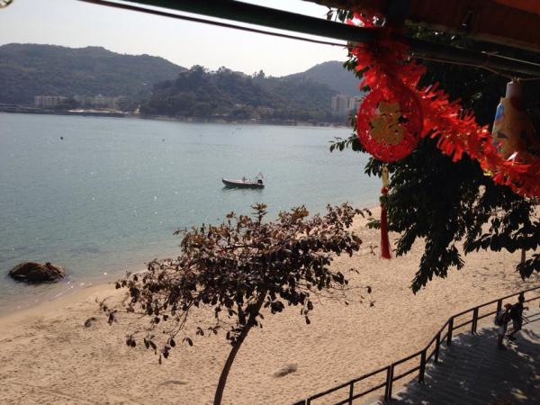 Today's (Sunday 26/1/14) trip was to the 'China Beach Club' on Mui Wo, South Lantau Island, Hong Kong