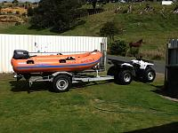 My Piper 3.8m fibreglass hull