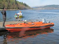 Back in the water.....where sh belongs!