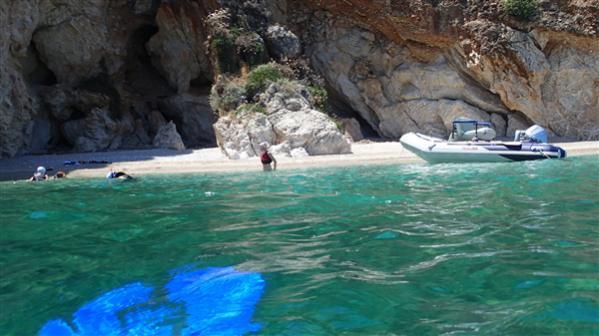 Peloponese empty beach