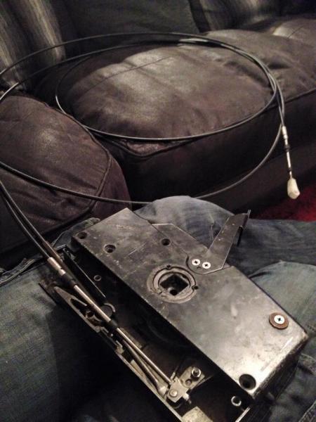 Gear control box repair