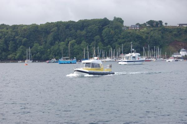 Tobermory bay during the redbay cruise
