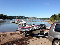 Bombard 5m at Galmpton (boat for sale if interested!)