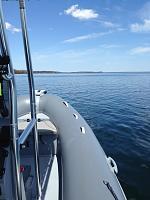 Approaching Georgina Island