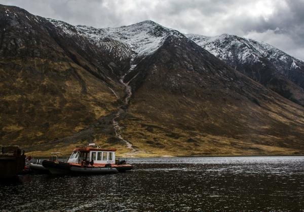 Voyager North Loch Etive with Ben Starav