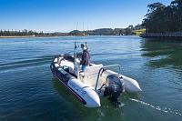 Georgia's new boat