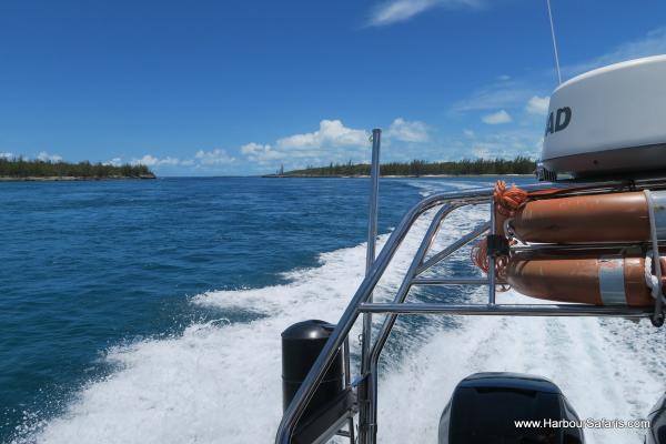 Running through Eleuthera from Nassau