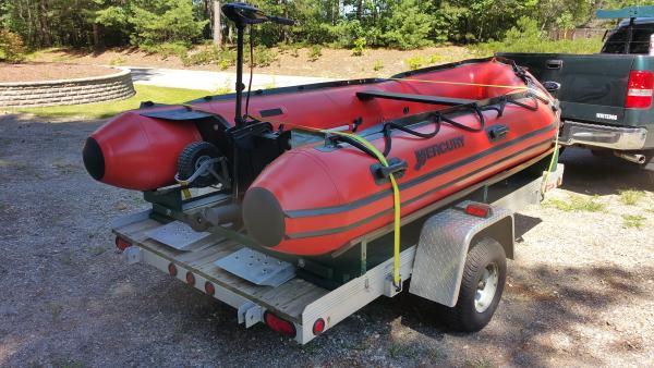 Boat on trailer 2  8 15