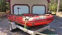 Boat on trailer 3  8 15