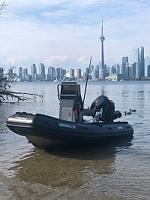"""Dolphin"" AB Profile A13 with Mercury Jet 40 hp.  Toronto, Canada"