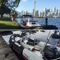 Let's Go and Toronto Police RIB.  Which one is which?