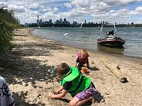 Let's Go on the beach in Toronto.