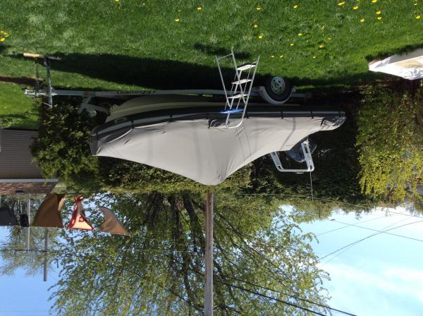 The boat cover is very well done by Co2 inflatables in Midland Ontario.