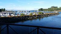 Port Hardy, B.C. harbor