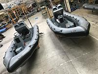 A sample of some of the boats on offer from Zodiac Milpro