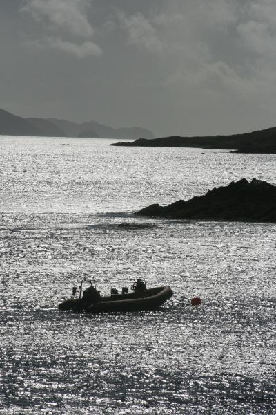 End of a good day with the promise of another one to follow. 