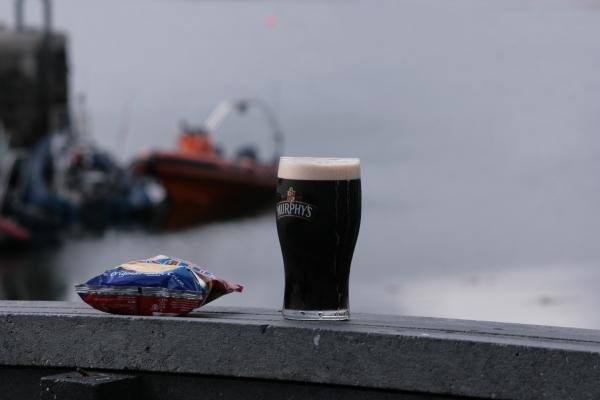 """And all I ask is a tall ship and a star to steer her by"" or my version: a seaworthy RIB, safe haven, a pint and a bag of crisps."