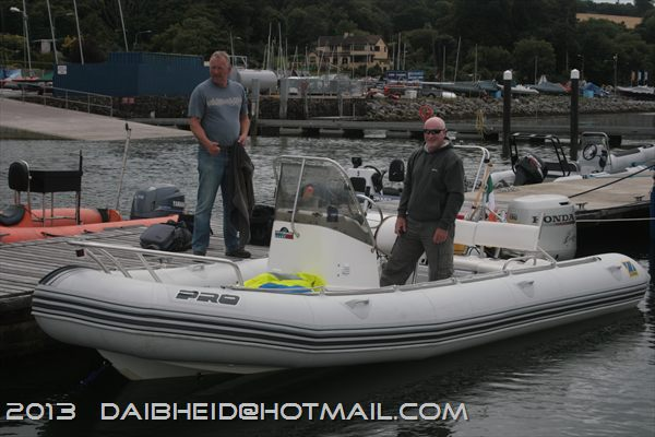Sligo Zodiac Pro lads after arriving with the two MUCH bigger ribs. Might change some peoples opinions about Zodiacs!