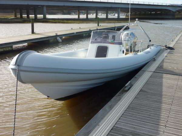 1st sea trial