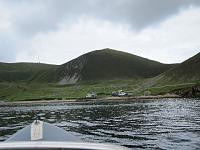 Arriving at Village Bay, Hirta