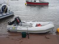 my boat  Zodiac 310 with 10hp mercury