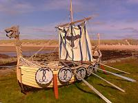 My next boat! (Port Errol Harbour/aka Cruden Bay)  Derek Thomson (Harbour Master) built it for the Cruden Bay Gala and a good job too. More details...