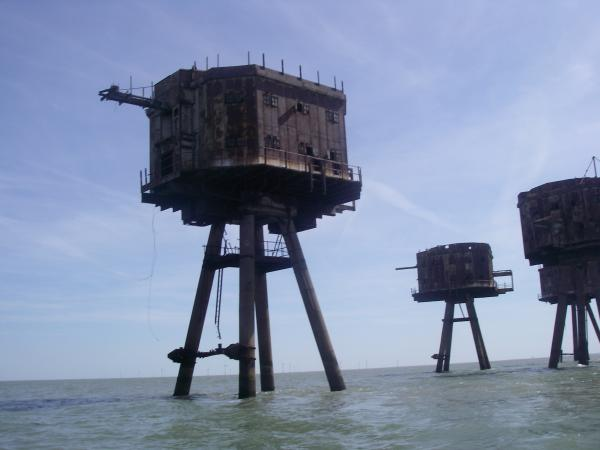 Sea Forts ( Thames Estuary )