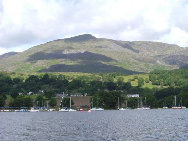 Lake District  ( Old Man of Coniston ? )