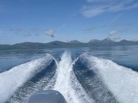 Heading to Gigha