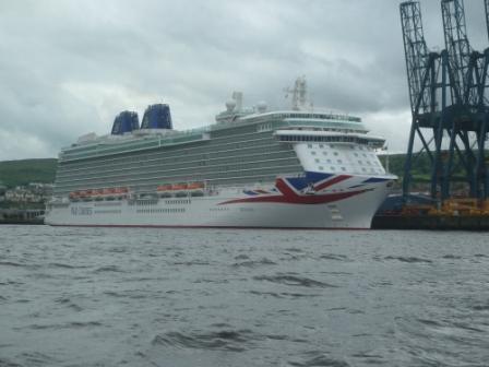 Britannia at Greenock