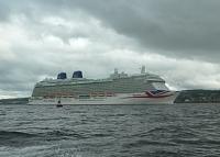 Britannia under way